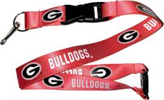 University of Georgia Lanyard- Fast and free shipping in the USA