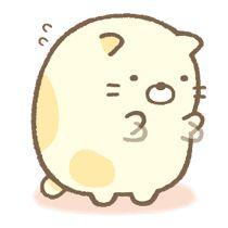 Sumikko Gurashi: More Animated Than Ever by Imagineer Co. / San-X Co. Cute Cartoon Characters, Cartoon Art Styles, Cartoon Stickers, Cute Stickers, Kawaii Drawings, Cute Drawings, Paper Airplane Drawing, Sumiko Gurashi, Kawaii Doodles