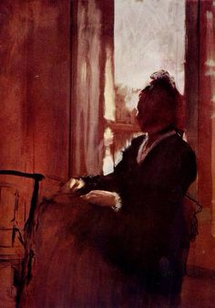 Edgar Degas - Woman at a Window (1872)