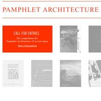 Pamphlet Architecture 35 Competition Open Architecture, Call For Entry, Competition, Blog, Pageants, Architecture, Blogging