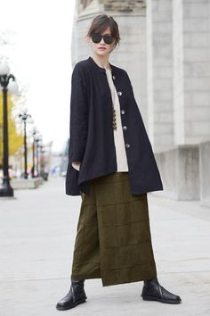 Shown w/ 3/4 Basic Top and Quadra Overlap Skirt
