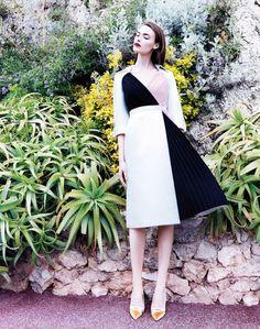 Style // fia ljungstrom5 Fia Ljungstrom is Ladylike in Dior for Elle China by Stockton Johnson