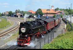 RailPictures.Net Photo: 99 7247-2 Harzer Schmalspurbahnen Steam 2-10-2 at Werningerode, Germany by Albert Lehmann