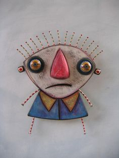 Day Dreamer 3 Original Found Object Sculpture Wood by FigJamStudio, $95.00