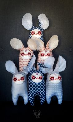 Bunndoll by Zinaarts on Etsy
