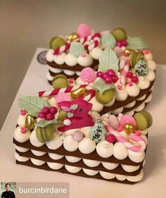 Pretty Cakes, Beautiful Cakes, Amazing Cakes, Cupcakes, Cupcake Cakes, Alphabet Cake, Cake Lettering, Monogram Cake, Biscuit Cake
