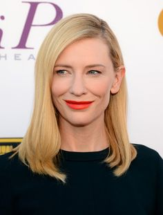 Actress Cate Blanchett attends the 19th Annual Critics' Choice Movie Awards at Barker Hangar on January 16, 2014 in Santa Monica, California...