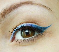 Дневен грим за кафяви очи