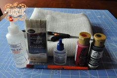 How to make a Burlap Swag Banner
