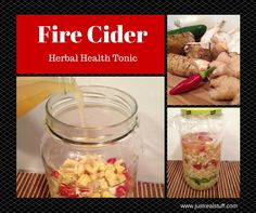 Try this Fire Cider recipe for an immune boosting tonic that will rev up your system to keep it healthy. An easy recipe made with garlic, ginger, horseradish, peppers, onions, and apple cider vinegar.