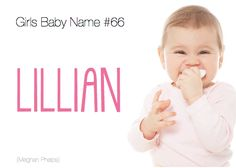 baby name: Lillian