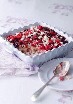Dessert Recipes, Desserts, Biscotti, Tiramisu, Acai Bowl, Sprinkles, Cereal, Goodies, Sweets