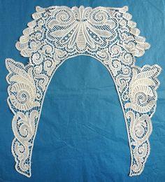 Branscombe Needle Lace, Bobbin Lace, Crochet Lace Collar, Lacemaking, Point Lace, Irish Lace, Cutwork, Silk Ribbon, Irish Crochet