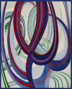František Kupka. Linien, Flächen, Raum (Lines, Surfaces, Space). 1912.