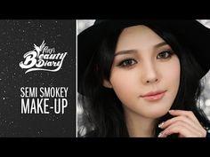▶ Pony's Beauty Diary - Semi Smokey Make-Up (with subs) 세미 스모키 메이크업 - YouTube