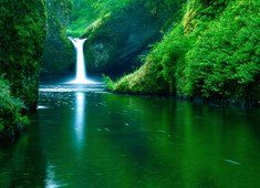Piękny wodospad!