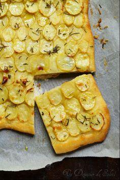 Blog de Cuisine Un Déjeuner au Soleil Pizza aux pommes de terre comme à Rome