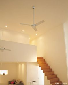 WF406 + WF666 [軽量][大風量][傾斜天井]ODELIC(オーデリック)製シーリングファン Ceiling Fan, Ceiling Lights, Stairs, Home Decor, Fans, Google, Stairway, Decoration Home, Room Decor
