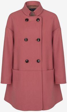 Zara Moss Green Coat, £69.99 | Mobile