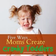 cranky toddler behavior