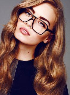 Maquillaje con gafas Usando Lentes b3f7b9e61ca7