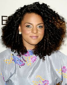 Image detail for -Hairspiration: Celebrities Working Their Natural 'Dos. - BV Hair Talk