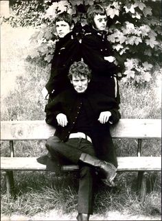 Cream. Eric Clapton, Ginger Baker, and Jack Bruce. Dated Sep 14, 1967