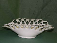 Westmoreland Milk Glass Banana Bowl