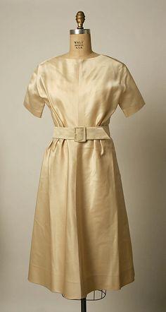 Cristobal Balenciaga (Spanish, 1895–1972). Wedding dress, 1958. House of Balenciaga (French, founded 1937). The Metropolitan Museum of Art, New York. Gift of Beatrice L. Eytan, 1993 (1993.513a–c)