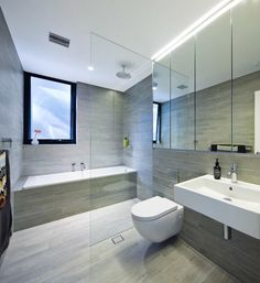 Spa like bathroom, family bathroom, bathroom layout, white bathroom, washro Spa Like Bathroom, Family Bathroom, Bathroom Renos, Bathroom Layout, White Bathroom, Modern Bathroom, Small Bathroom, Master Bathroom, Bathroom Fixtures
