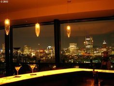 Can I have the spacious home in the country, with this bar and this view?