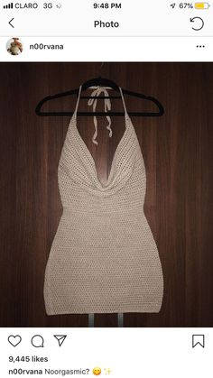 Bralette Pattern, Crochet Bikini Pattern, Crochet Top, Crotchet, How To Make Clothes, Diy Clothes, Diy Fashion, Fashion Outfits, Crochet Bathing Suits