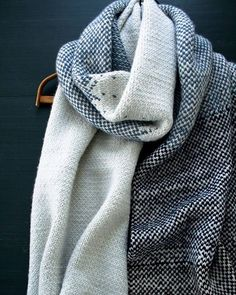 Our gorgeous Arctic Wrap uses two of Purl Soho's worsted weight beauties, Worsted Twist and Alpaca Pure, for a very generous and cozy knit. Find the free pattern by following our profile link. #purlsoho #purlsohobusyhands #purlsohoarcticwrap #knittersofinstagram #handmade #knitting #knitstagram #knitlife #purlsohoworstedtwist #purlsohoalpacapure