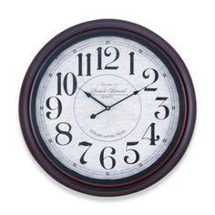 Cooper Classics Calhoun Clock - BedBathandBeyond.com $121.99