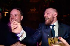 Conor McGregor reacts to CM Punk's loss at UFC 203