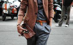 le sac + la veste + les pants = l'apré'm casual