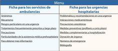 Recomendaciones para atender a afectados de SED Vascular Hypermobility, Ambulance, Note Cards