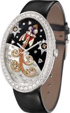 Van Cleef and Arpels Timeless From the Earth to the Moon Watch - Charming Audacity Watches Channel
