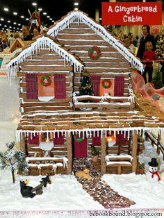 Christmas Carols:  O Little Town of Bethlehem Gingerbread Houses