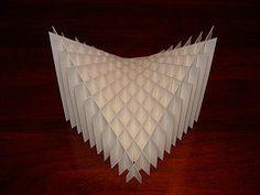 Completed Sliceform (Crackpot Papercraft) Tags: sculpture paper sliceform