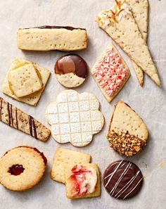Shortbread cookies - Classic Shortbread Cookie Recipe with Variations - Butter, sugar, flour and salt