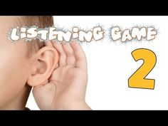 Listening skills can be difficult to master for many children. Help children develop their listening skills. Use this video in conjunction with the bingo car. Phonics Lessons, Phonics Games, Jolly Phonics, Listening Games, Listening Skills, Phase 1 Phonics, Phase One, Letter Sounds, Bingo