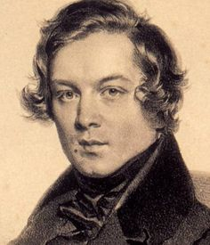 Robert Schumann a romantic composer of the 19th Century. His early music was an attempt to break form of the Classical music era.