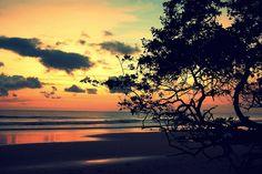 Beautiful Costa Rica sunset!