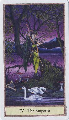 The Hobbit Tarot { 04 } The Emperor