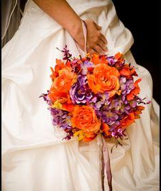 fall wedding flowers purple   Wedding Flowers Photos
