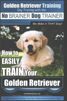 "Golden Retriever Training Dog Training With the No Brainer Dog Trainer ""We Make It That Easy"": How to Easily Trai..."