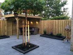 Afbeeldingsresultaat voor idee vierkante tuin