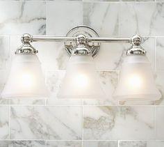 Bathroom lights Sussex Triple Sconce -potterybarn
