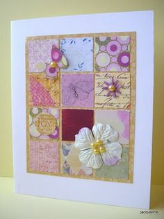 So fresh & clean see the blog for more beautiful pieces  http://myscrapbasket.blogspot.co.uk/